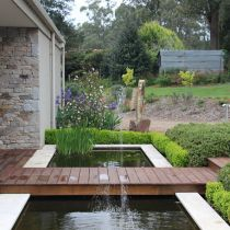 Wingspread_Water feature front entry.jpg